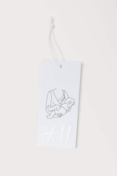 H&M - MAMA Microfibre nursing bra - 2