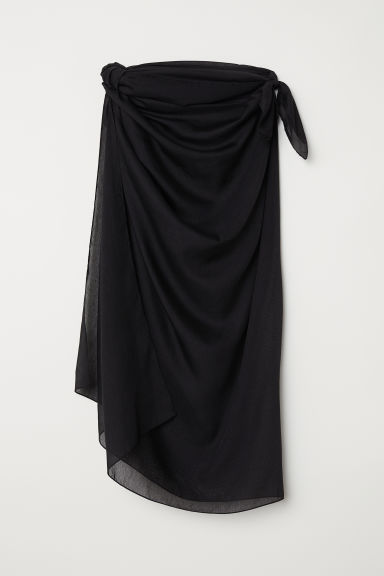 Sarong - Black - Ladies | H&M