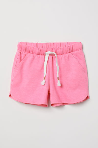 Shorts in jersey flammé - Rosa -  | H&M IT
