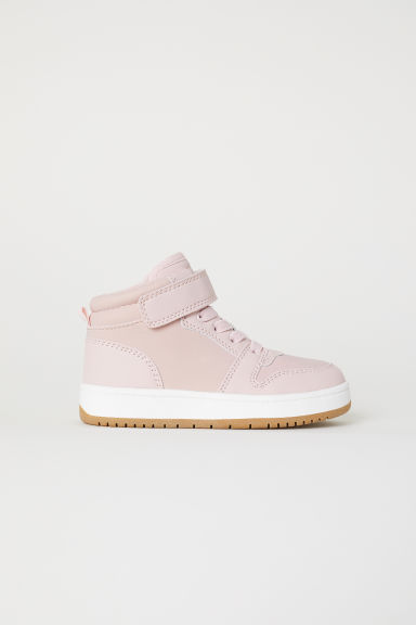 Hi-top trainers - Light pink - Kids | H&M