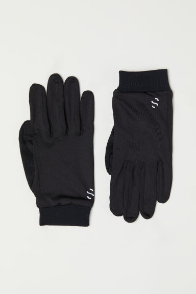 Running gloves - Black - Men | H&M