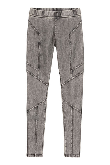 Jersey leggings - Dark grey -  | H&M
