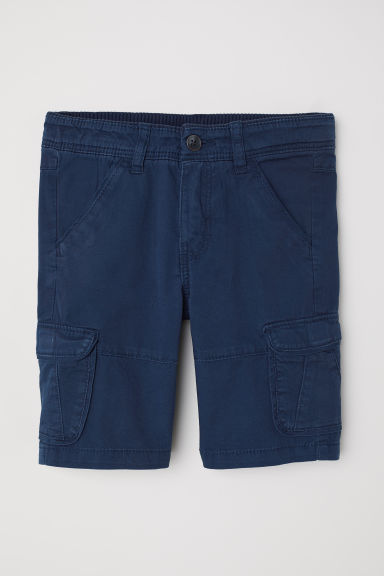 Shorts modello cargo - Blu scuro -  | H&M IT