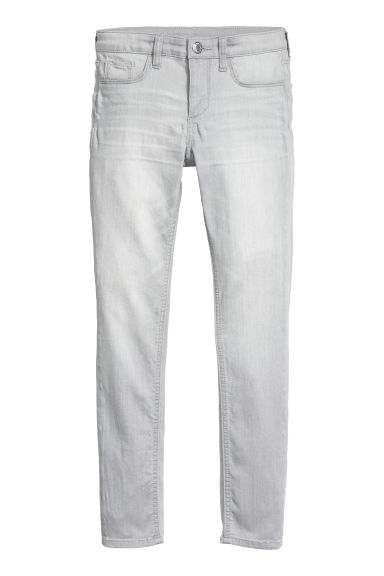 Superstretch Skinny Fit Jeans - Light grey denim - Kids | H&M