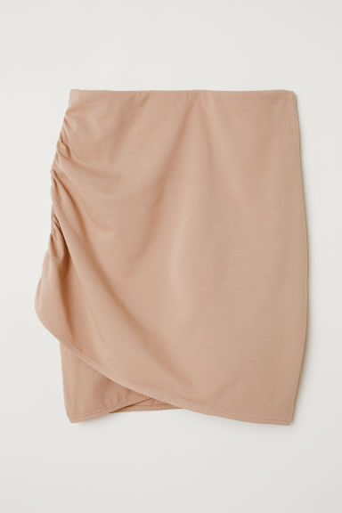 Draped skirt - Beige - Ladies | H&M