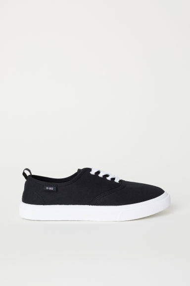 Canvas trainers - Black - Ladies | H&M