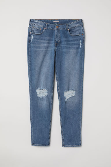 H&M+ Boyfriend Regular Jeans - Denim blue -  | H&M CN