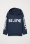 Dark blue/Believe