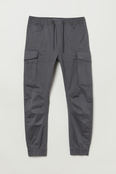 Cargo joggers - Grey - Men | H&M CN