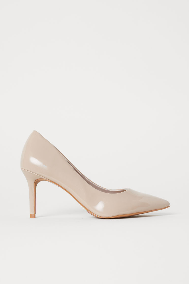 Court shoes - Beige - Ladies | H&M