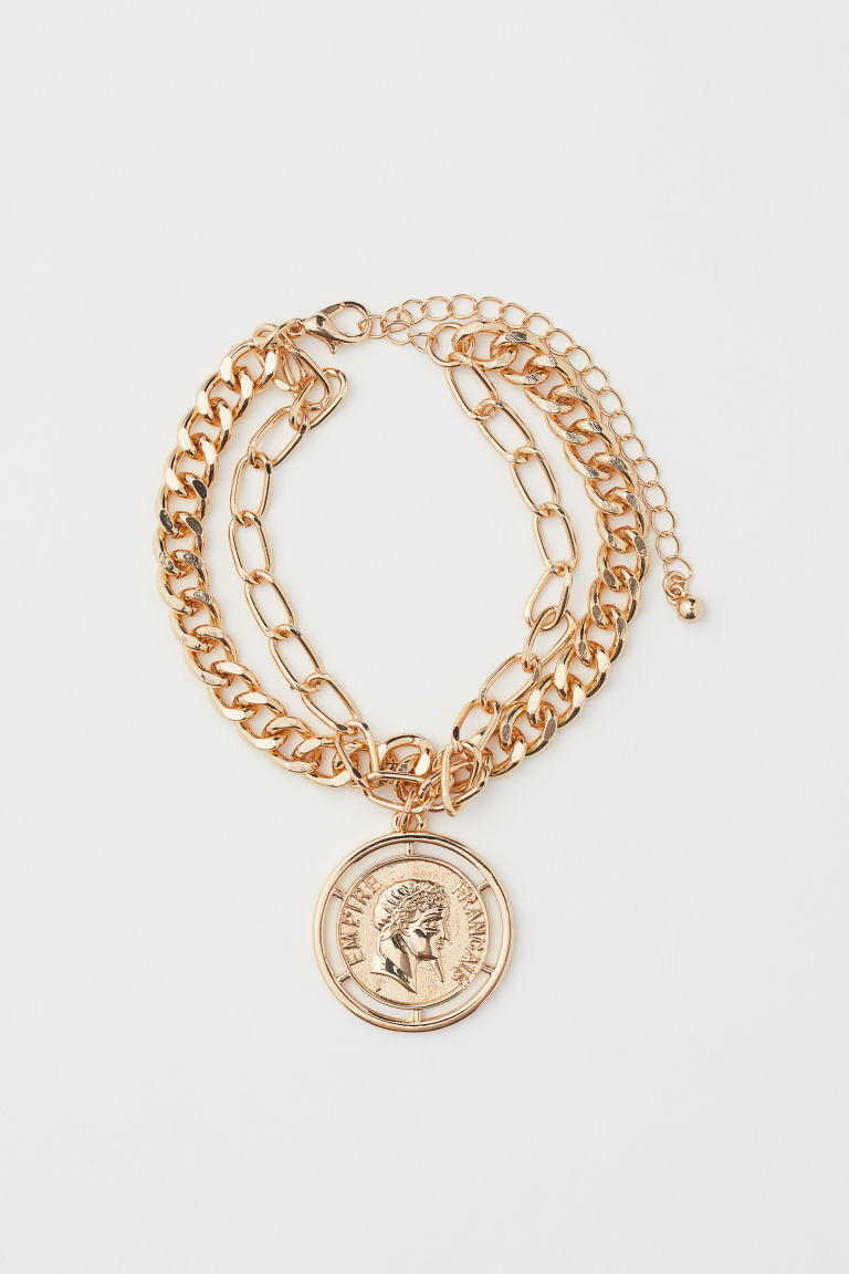 Two-strand bracelet - Gold-coloured - Ladies | H&M CN