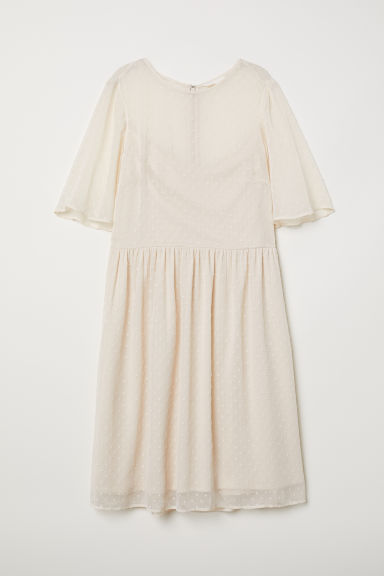 Airy dress - Light beige - Ladies | H&M
