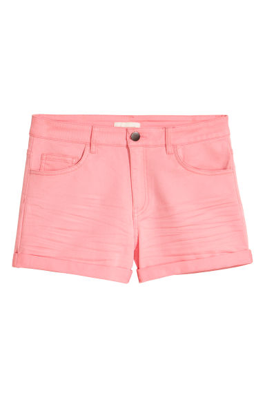 Shorts in twill - Rosa - DONNA | H&M IT