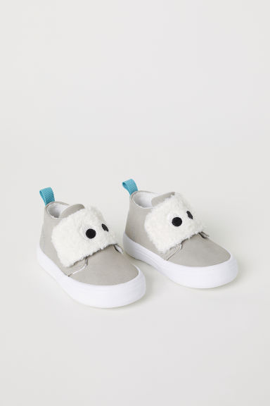 Trainers with a decoration - Light mole - Kids | H&M