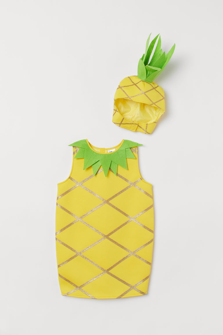 Pineapple costume - Yellow/Pineapple - Kids | H&M GB