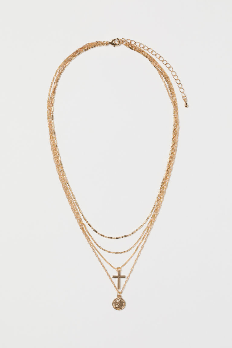 Multi-strand necklace - Gold-coloured - Ladies | H&M