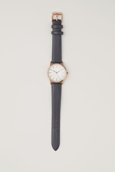 Watch - Dark grey - Ladies | H&M CN