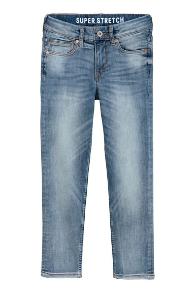 Superstretch Skinny Fit Jeans - Blu denim chiaro - BAMBINO | H&M CH