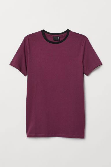 T-shirt Muscle fit - Prugna chiaro -  | H&M IT