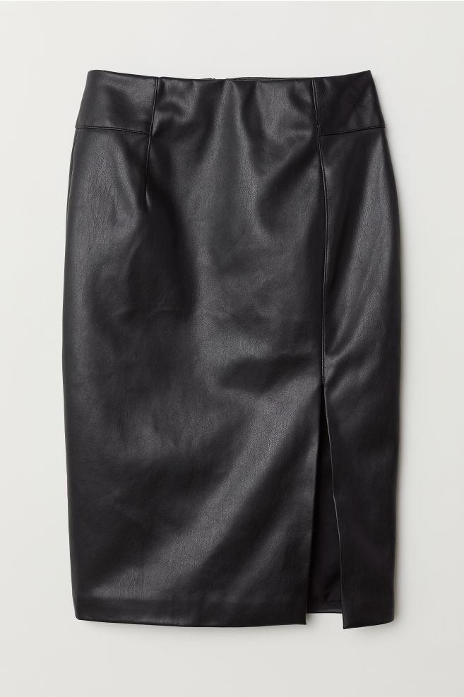 bf36bf8913 Pencil Skirt - Black - Ladies   H&M ...