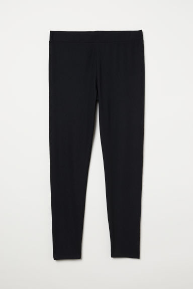 H&M+ Leggings High waist - Black - Ladies | H&M CN