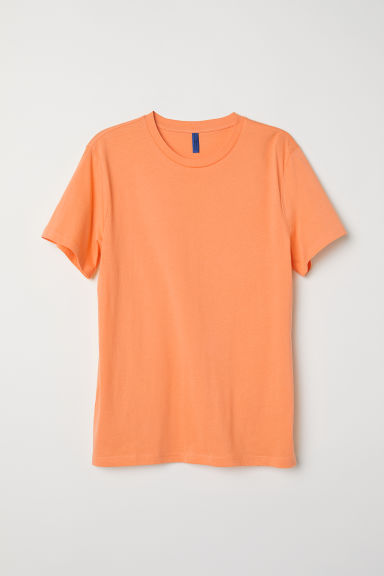 T-shirt - Orange - Men | H&M CN