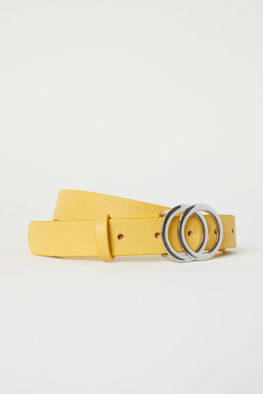 Narrow belt - Yellow - Ladies | H&M CN