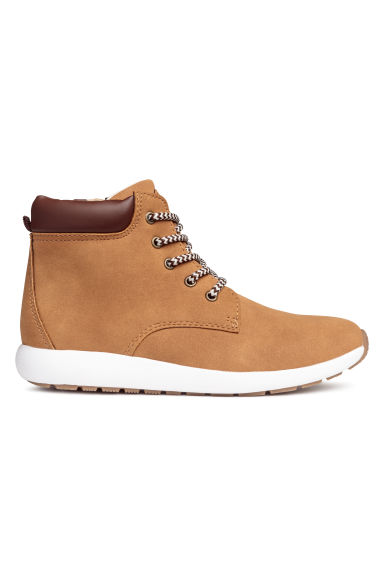 Hi-top trainers - Camel -  | H&M