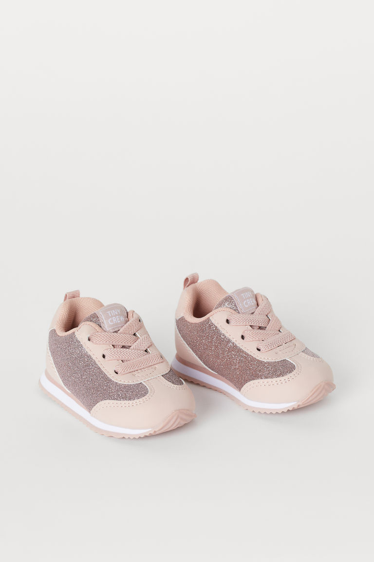 Baskets - Rose poudré/scintillant - ENFANT | H&M CH