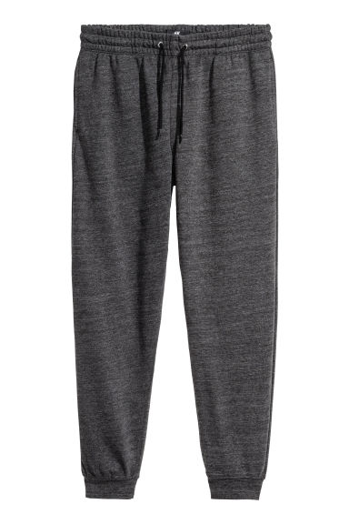 Sweatpants - Dark grey marl -  | H&M IE