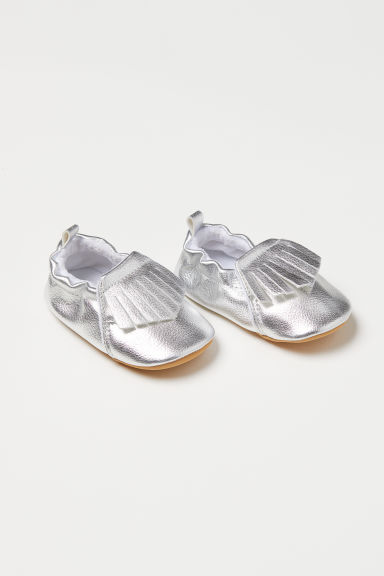 Moccasins - Silver-coloured - Kids | H&M CN