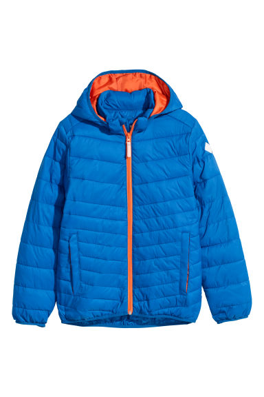 Padded lightweight jacket - Bright blue - Kids | H&M