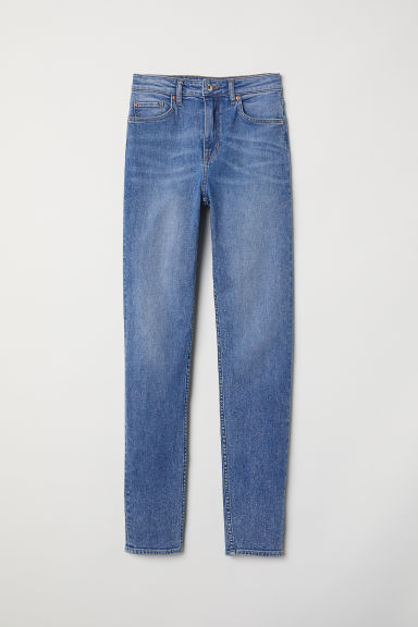 Skinny High Jeans - Blau - Ladies | H&M AT