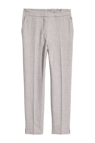 Tailored trousers - Light grey -  | H&M CN