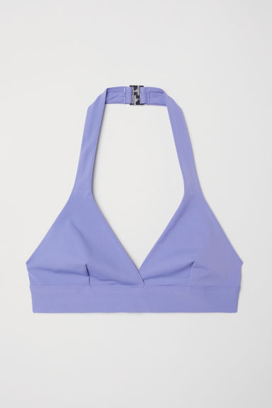 Top bikini a triangolo - Viola chiaro -  | H&M IT