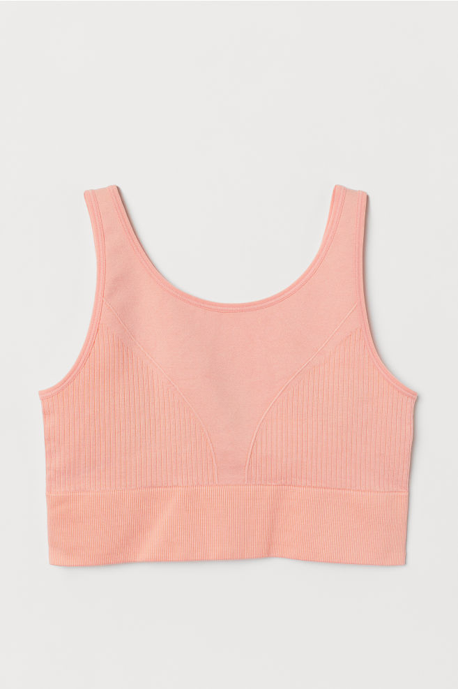6d1d4e20f ... Sports Bra Low support - Light coral - Ladies