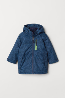 Fleece-lined ski jacket