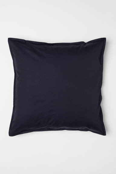 Effen kussenhoes - Donkerblauw - HOME | H&M BE