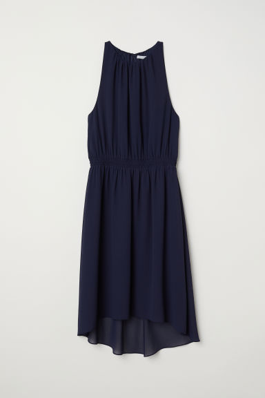 Sleeveless dress - Dark blue - Ladies | H&M CN