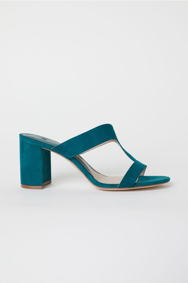 a8e85a8fef42 Sandals - Emerald green - Ladies