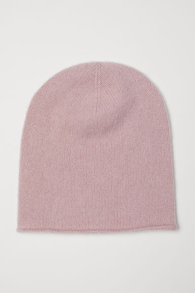 Cashmere hat - Powder pink - Ladies | H&M CN