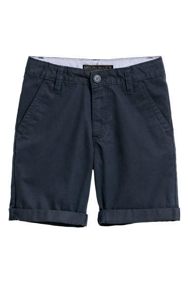 Chino shorts - Dark blue - Kids | H&M