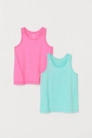 2-pack sports vest tops