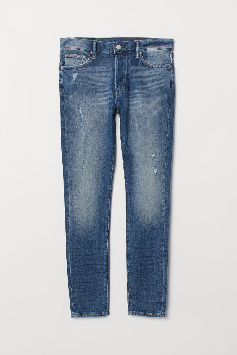 Skinny Carrot Jeans - Denim blue -  | H&M
