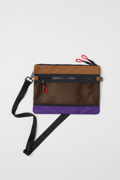 Small shoulder bag - Brown/Multicoloured - Men | H&M