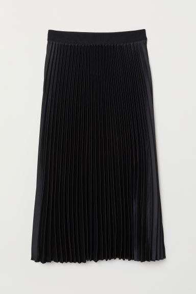 Pleated skirt - Black - Ladies | H&M IE