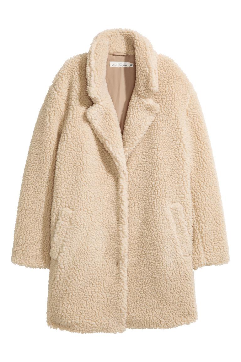 competitive price 6b5dd 47f3b Cappotto corto tipo pelliccia