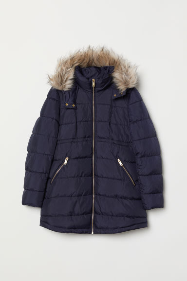 MAMA Padded Jacket - Dark blue - Ladies | H&M US