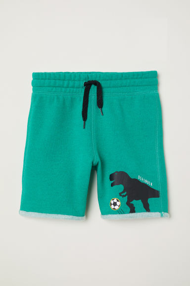 Sweatshirt shorts - Green - Kids | H&M