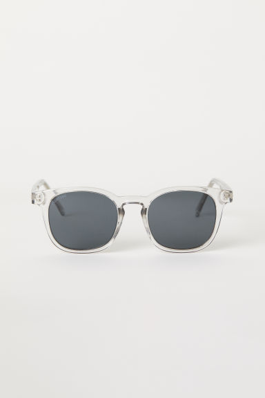 Polarised sunglasses - Transparent - Men | H&M CN